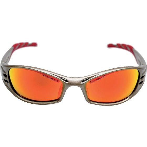 3M™ Schutzbrille FUEL™ bronze/rot