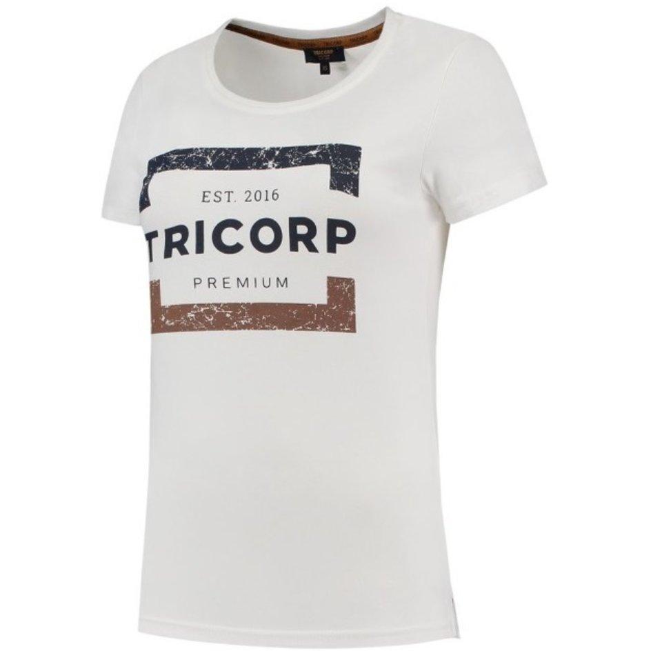 Tricorp – T-Shirt Premium für Damen 104004 Brightwhite Gr. L