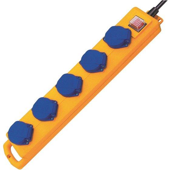brennenstuhl® Steckdosenleiste 5-fach 2 m