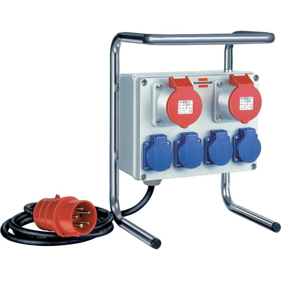 brennenstuhl® – Kleinstromverteiler H07RN-F5G1,5 m.Gest.