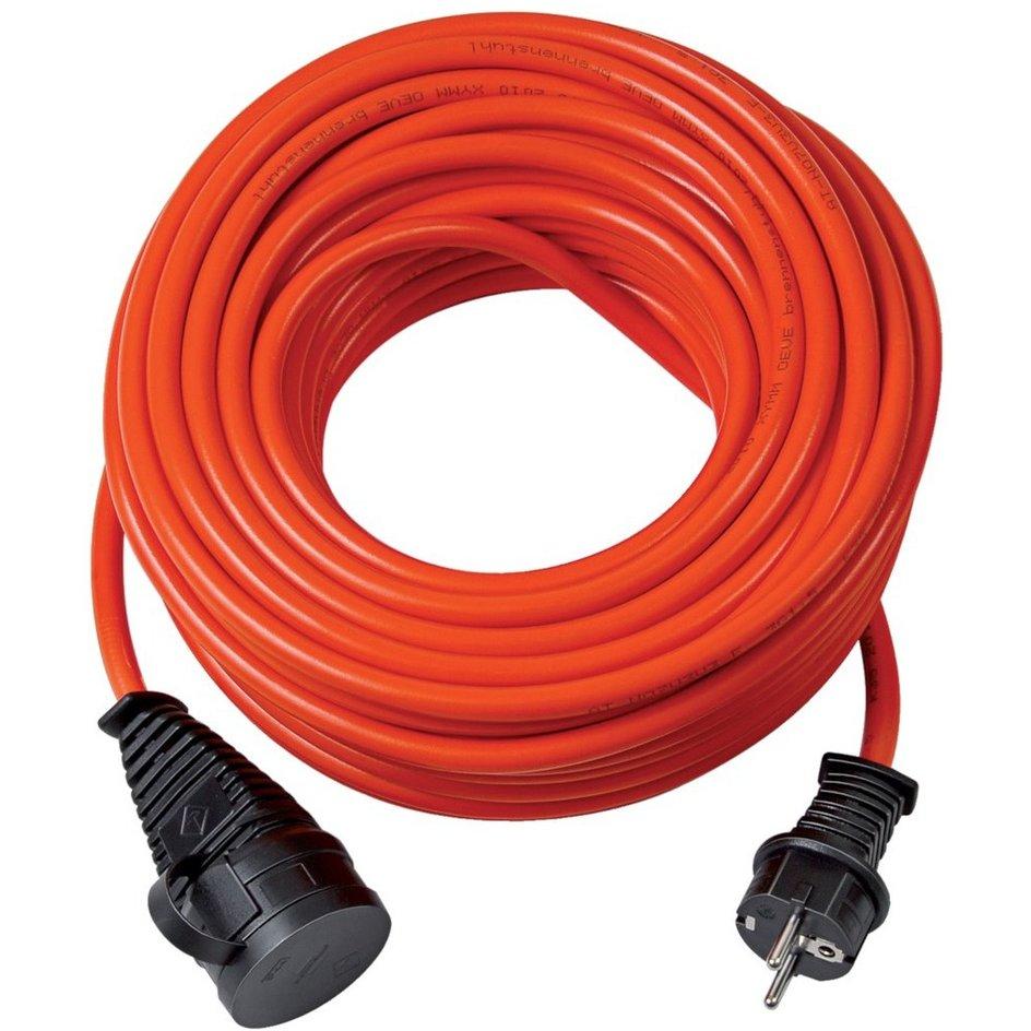brennenstuhl® – Verlängerungskabel, IP 44, 10/25 m Bremaxx-Gummi-Kabel, AT-N07 V3V3-F 3G1,5