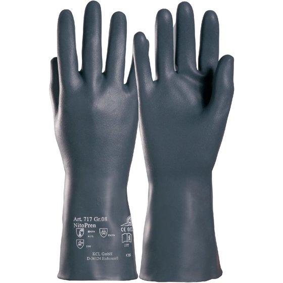 KCL Chemikalienschutzhandschuh NitoPren® Kat. III