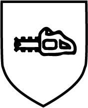 Piktogramm Gefahr durch Kettensägen - Kettensäge schwarz