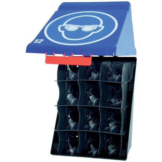 GEBRA Aufbewahrungsbox für 12 Schutzbrillen