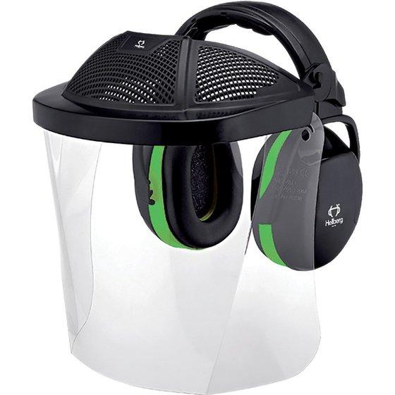 Hellberg® Kopfschutzset mit Gesicht- und Gehörschutz
