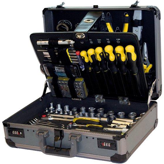 TECO Werkzeugkoffer 132-teilig