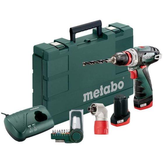 metabo PowerMaxx BS Akku-Bohrschrauber-Set