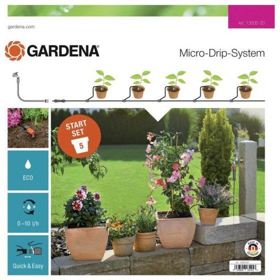 GARDENA MDS Start-Set für Pflanztöpfe