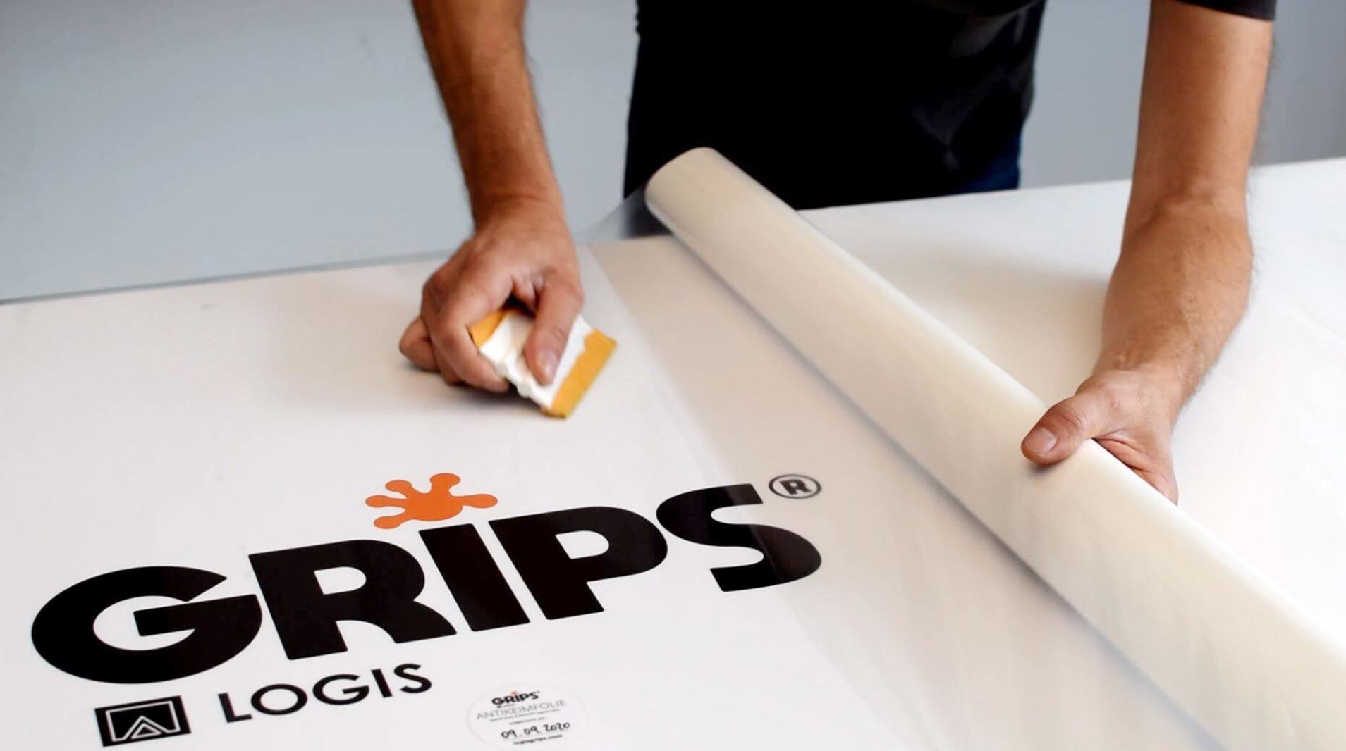 LOGIS GRIPS® – Antikeimfolie Rolle 10m x 1,37m