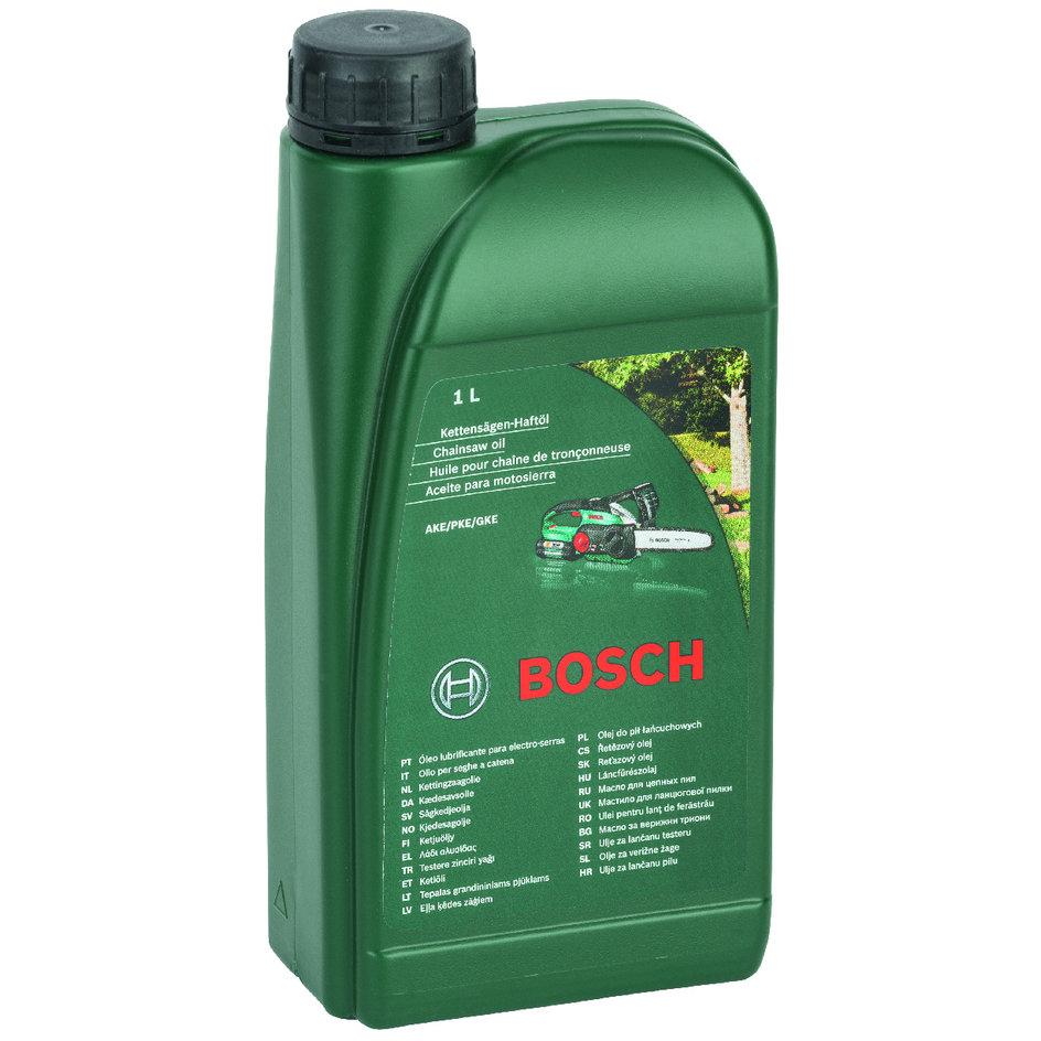 Kettensägenhaftöl von Bosch