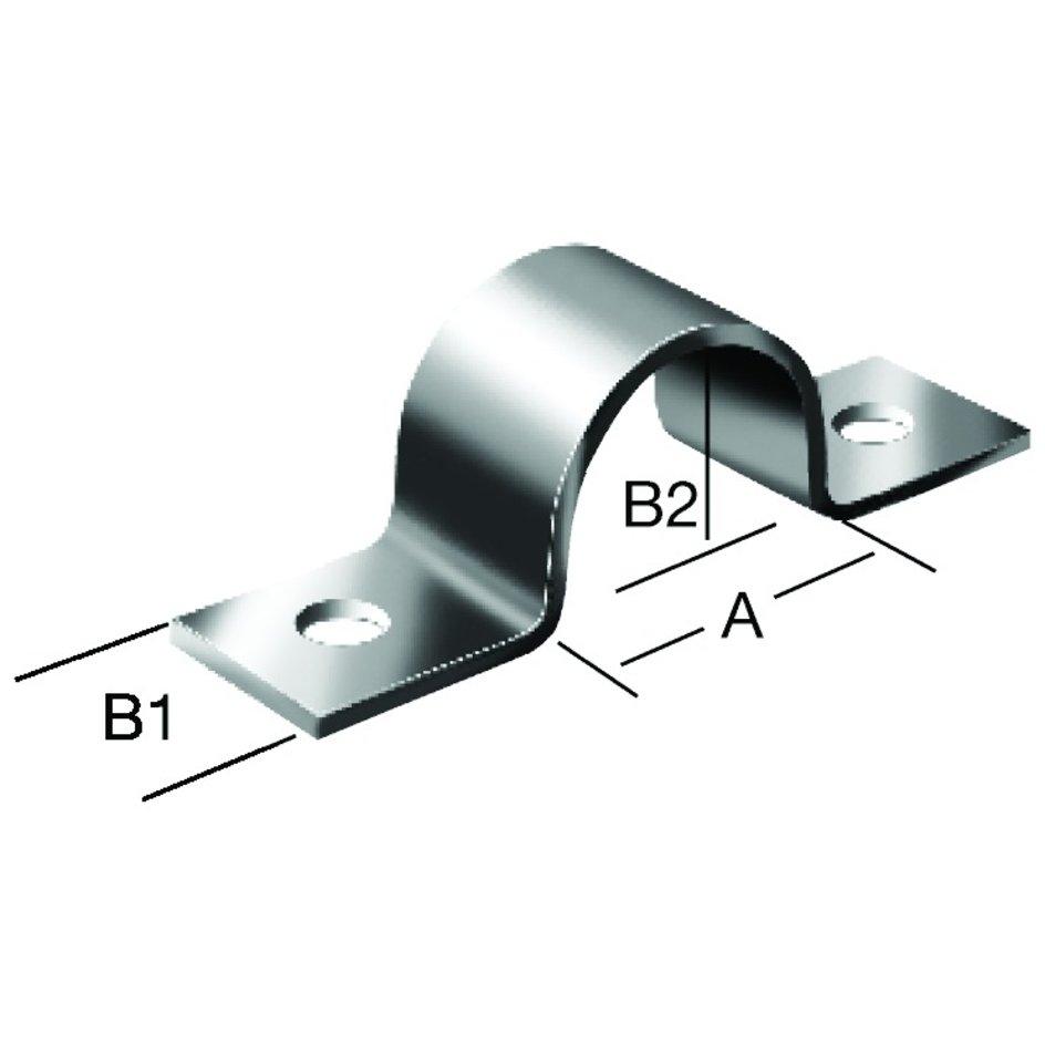 Vormann Rohrschelle Stahl