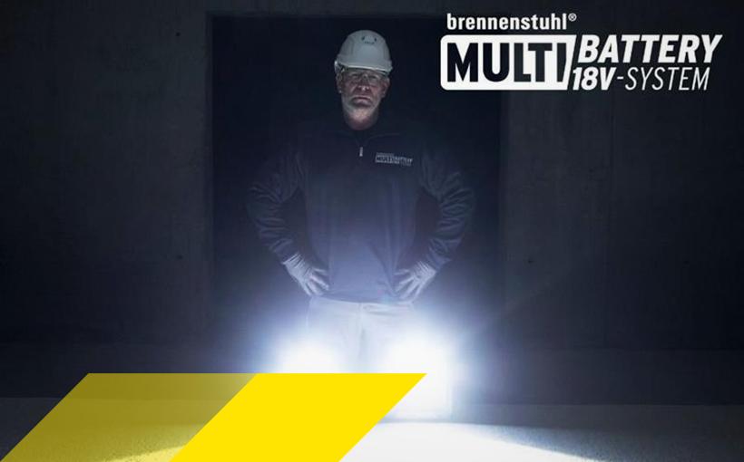 Technishe Innovation: brennenstuhl® Multi Battery 18V System
