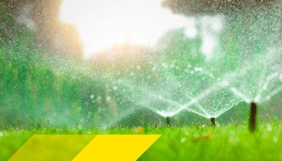 Sprinkler automatischer Bewässerung